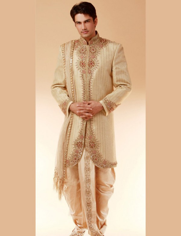 Wedding Dresses For Mens : Sherwanis mens wedding dress menztrendz