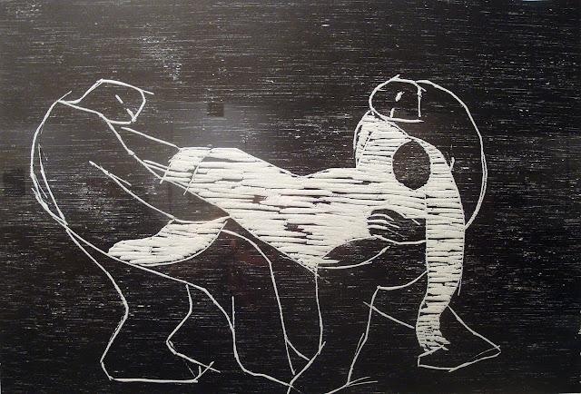 """Katia Acín. """"Obra gráfica"""". En Ayerbe"""