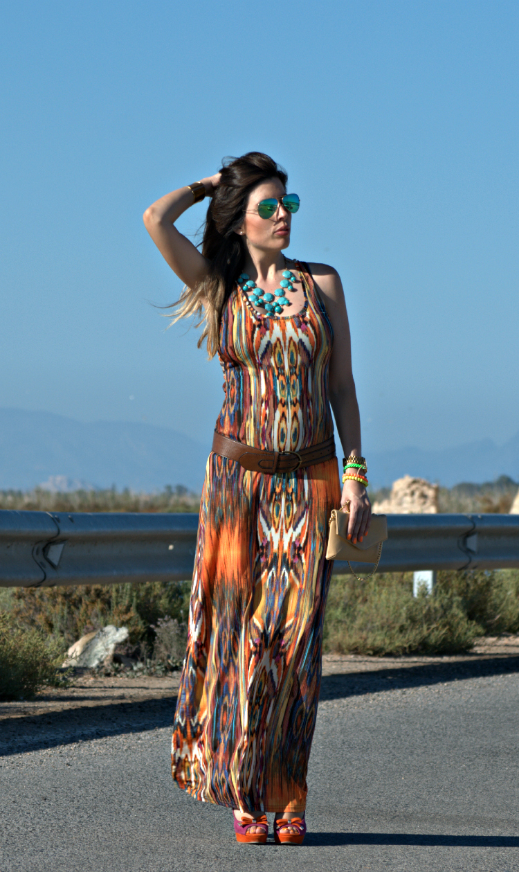 LONG DRESS- VESTIDO LARGO