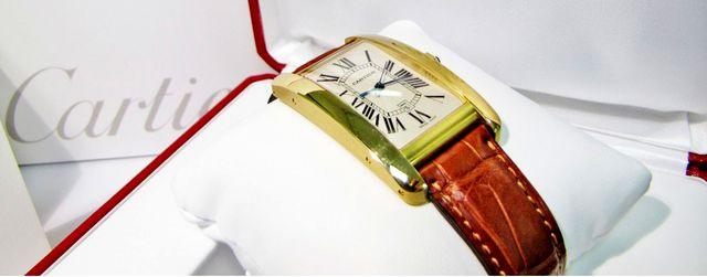 Золотые часы мужские от Картьер