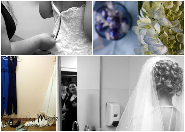 wedding details flowers dress shoes