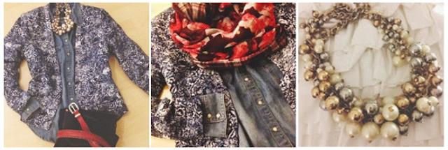 XXL H&M Wende-Loop-Schal Outfit