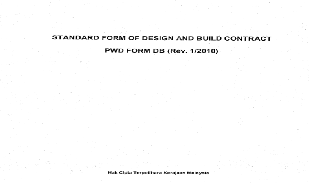Jkr Design And Build Contract