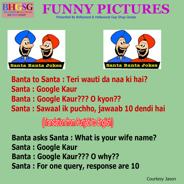 Santa Banta Jokes In Punjabi For Facebook