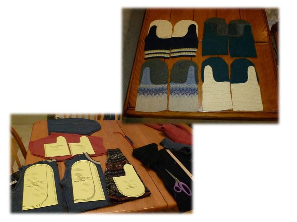 Sweater Mitten Template | New Calendar Template Site