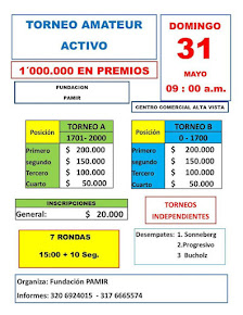 Torneo Amateur Ajedrez Activo