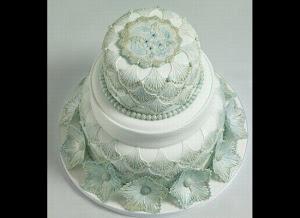 Romantic Wedding Cake Beauty
