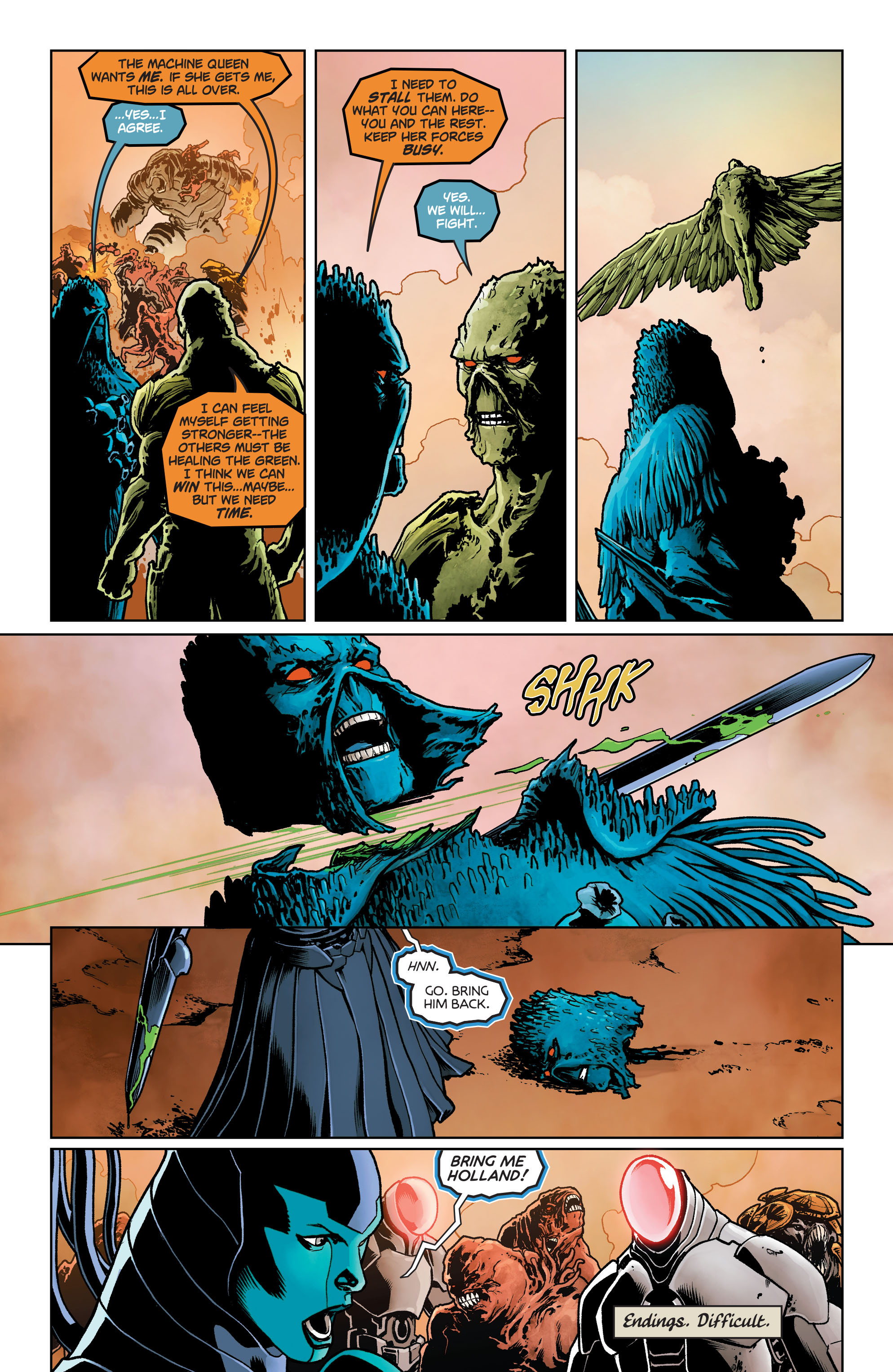 Swamp Thing (2011) Issue #40 #45 - English 13