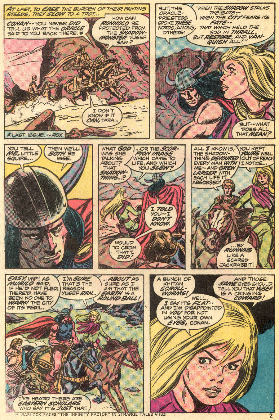 Conan the Barbarian (1970) Issue #55 #67 - English 3