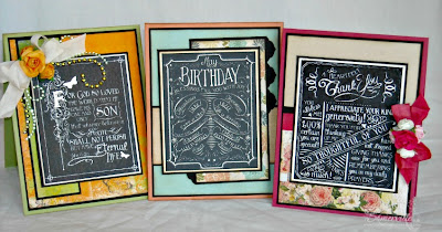 Stamps - Our Daily Bread Designs Chalkboard - Birthday/Thank You, Chalk Board John's