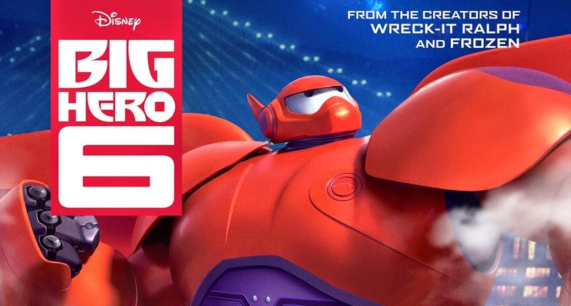 Tráiler desde la Comic-con de NY de Big Hero 6