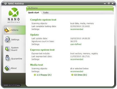 تحميل برنامج نانو انتى فيرس Download NANO AntiVirus 2015