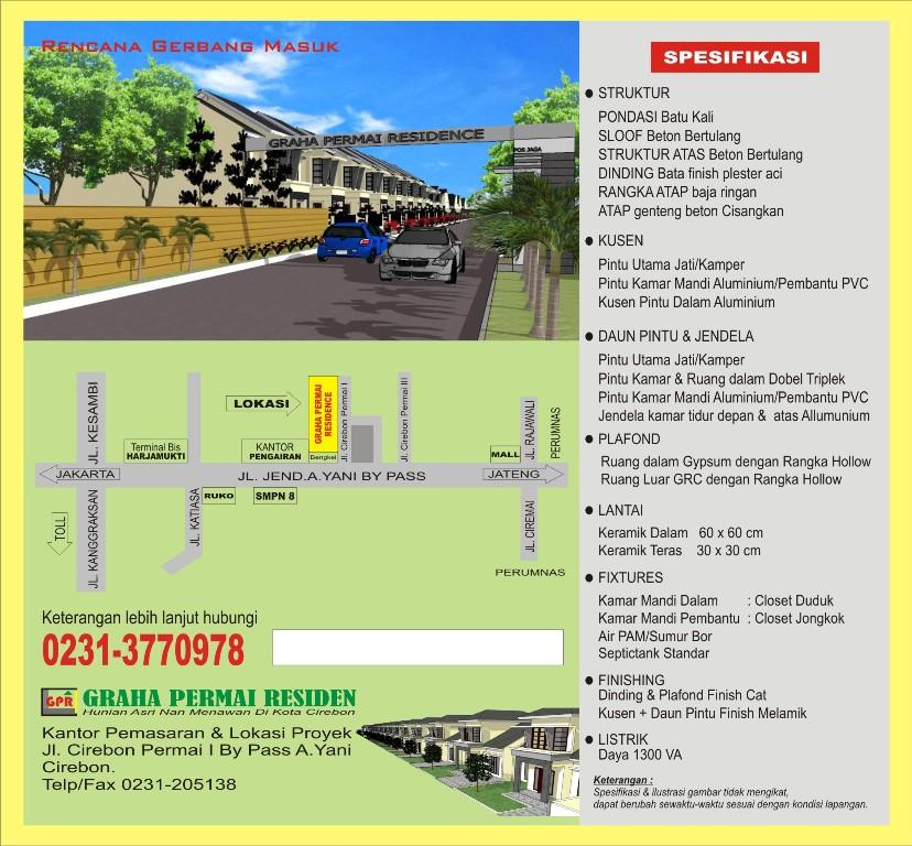 """Perumahan """"Graha Permai Residence"""" Cirebon: April 2012"""