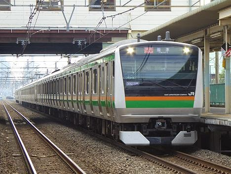 高崎線 快速アーバン 籠原行き E233系