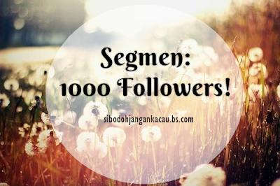 Segmen: 1000 Followers!