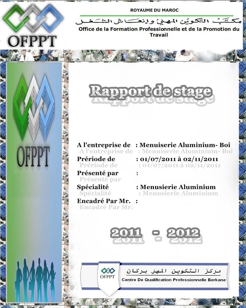 Stage Menuiserie Bois > rapportdestage menuiserieAluminium bois rapport de stage menuiserie Aluminium et bois