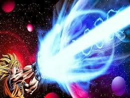 Kamehame Goku melawan Musuh