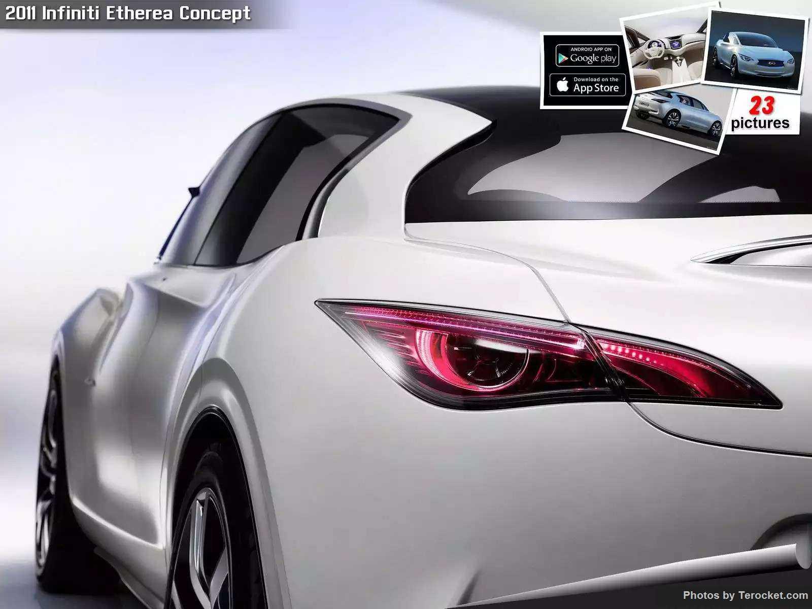 Hình ảnh xe ô tô Infiniti Etherea Concept 2011 & nội ngoại thất