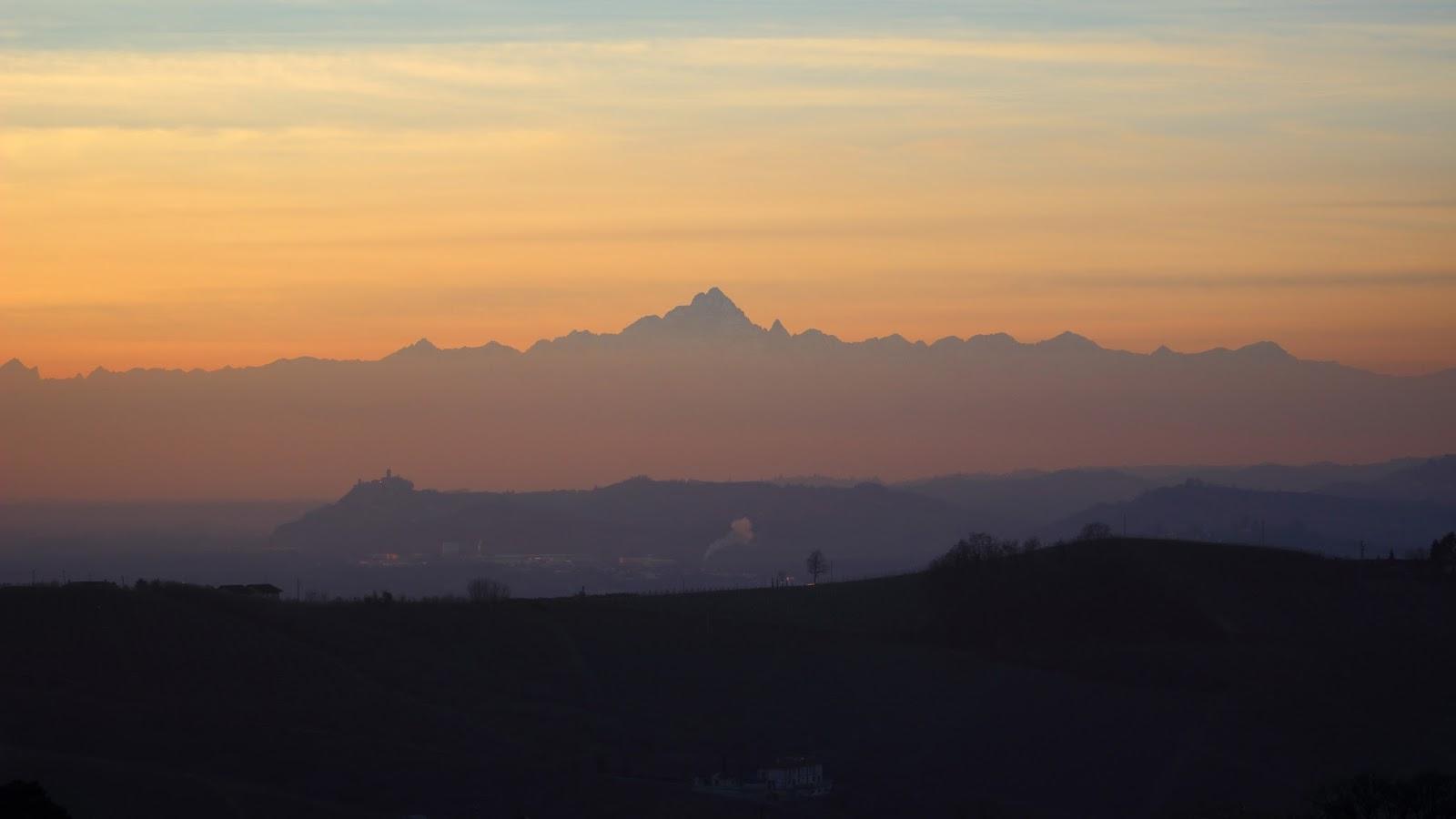 Monviso al tramonto
