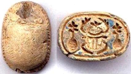 جعارين تحمل أسماء ملوك الهكسوس