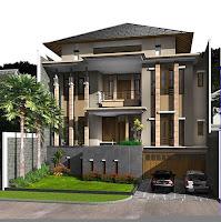 Model Rumah 2 lantai Terbaru