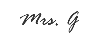 Mrs. G
