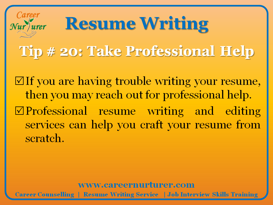 Professional resume writing services in alexandria va