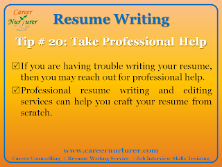 Professional Resume Service in India