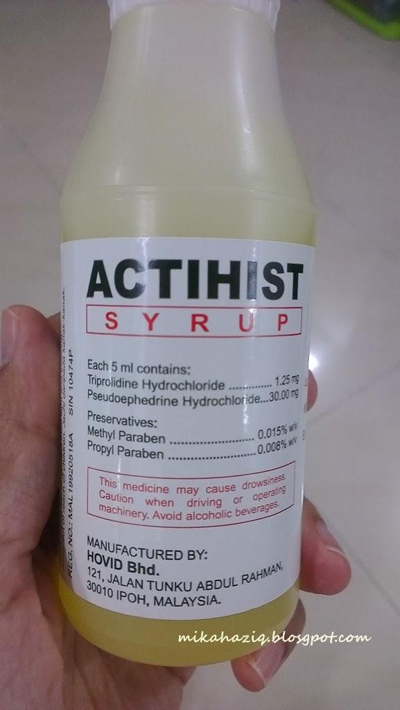 obat selsema untuk kanak-kanak