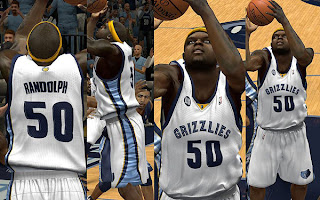 NBA 2K13 Memphis Grizzlies Home Jersey Patch