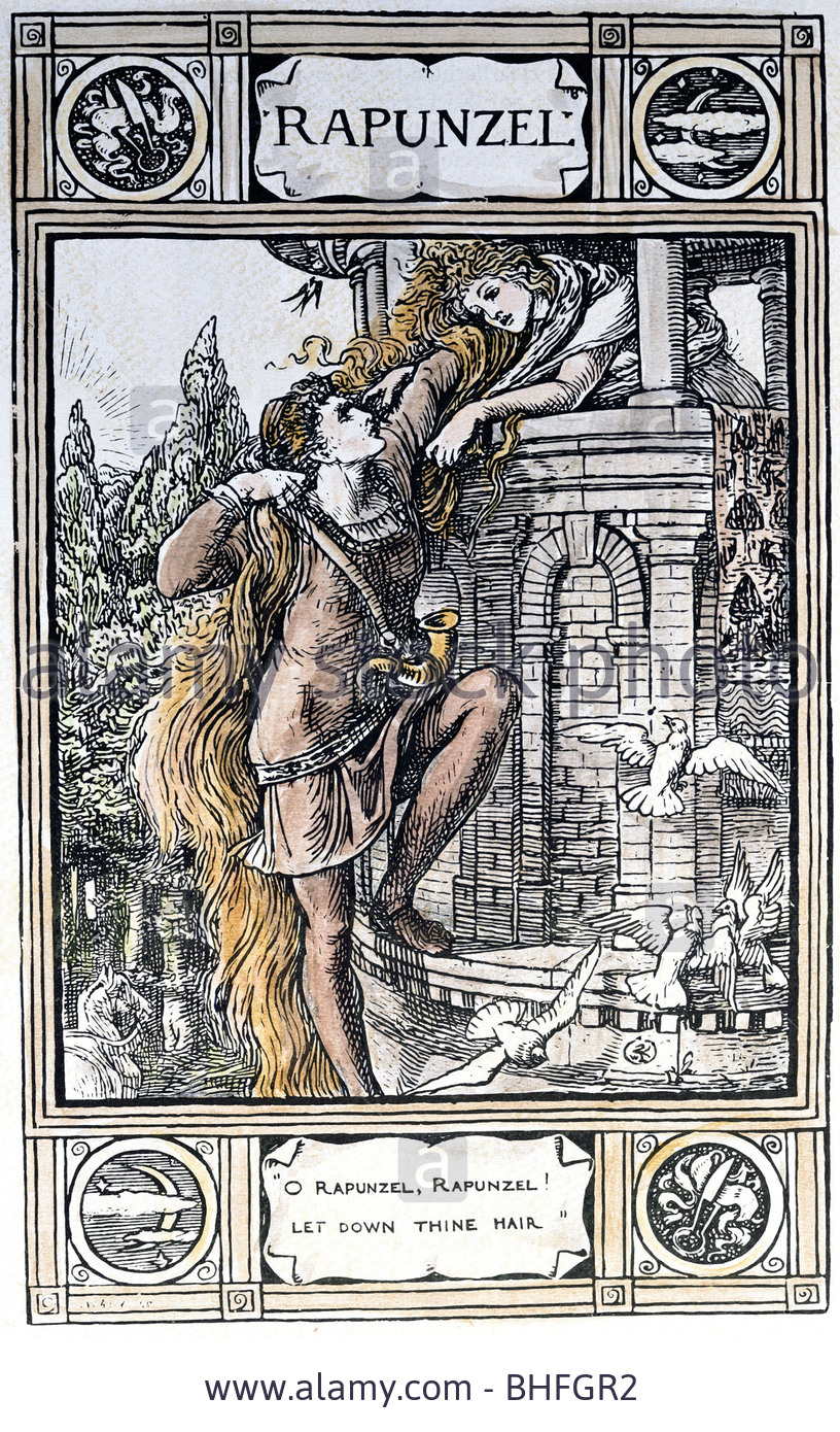 grimm s fairy tales and rapunzel Rapunzel is a german fairy tale in the collection assembled by the brothers  grimm, and first published in 1812 as part of children's and household tales.