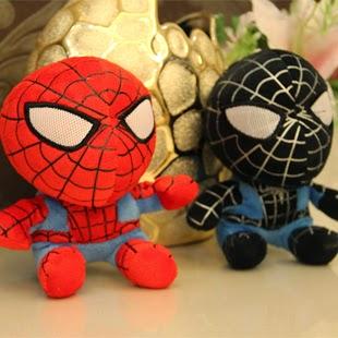 Jual boneka lucu Spiderman