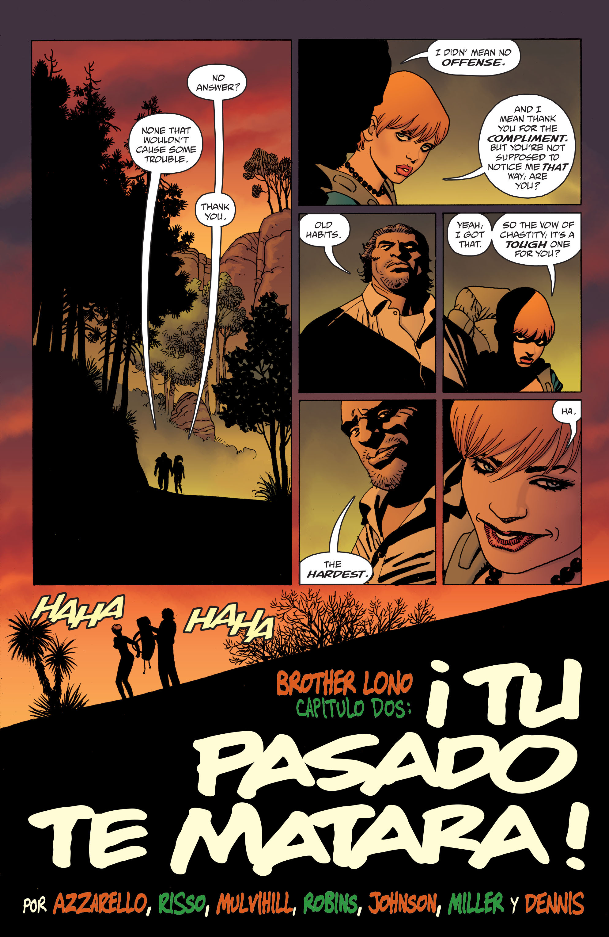 100 Bullets: Brother Lono Full Page 37