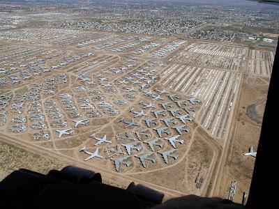 aeronaves - Davis-Monthan AFB - o maior cemitério de aeronaves do mundo  AMARC+P1010034