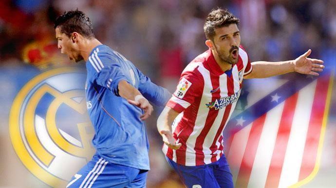 ريال مدريد واتلتيكو مدريد