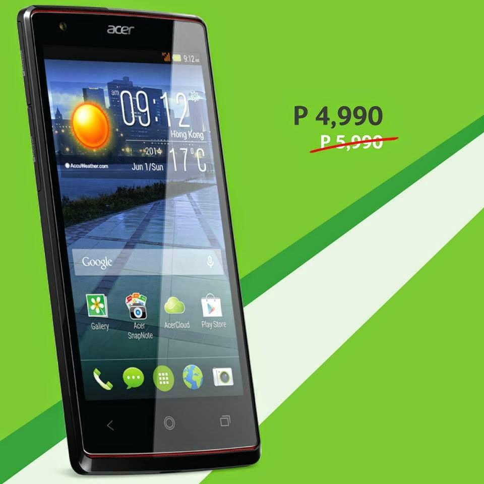 Acer Philippines Smartphones, Acer Liquid E3