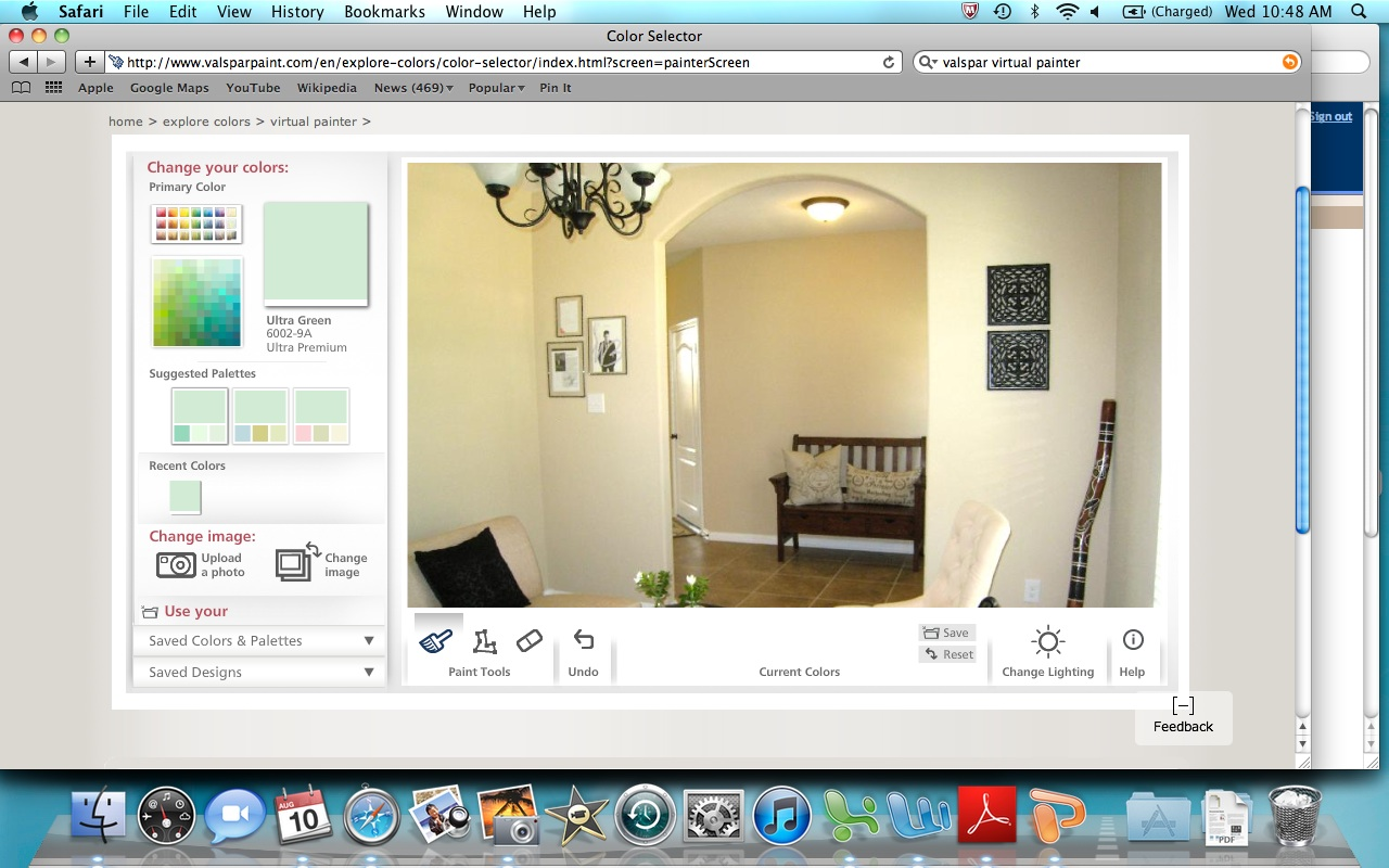 Paint Your Room Virtually As An Authorized Benjamin Moore