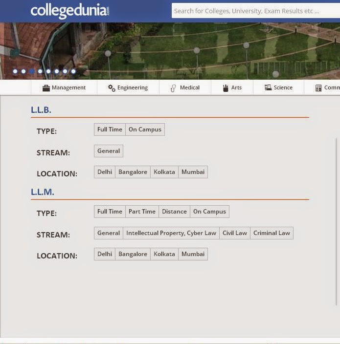 Collegedunia.com An extensive search engine for Colleges and Educational Institutions in India