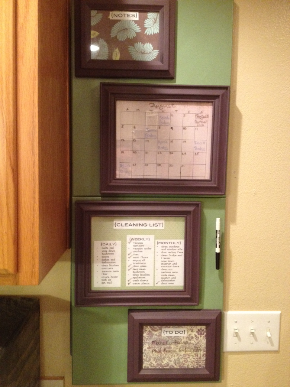 fuse box cover kitchen calendar nesting on a budget fuse box cover kitchen calendar