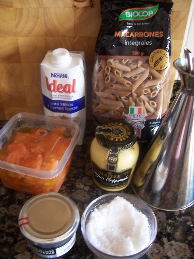 Recetas de pasta: macarrones con salmón