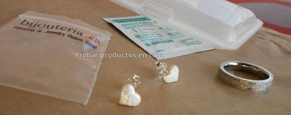 Pendiente y anillo Bijouteria