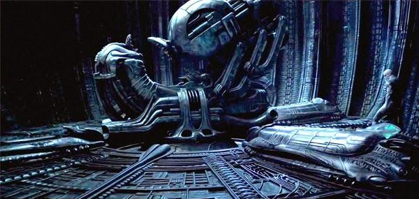 """Obras de H.R. Giger """"Prometheus"""""""