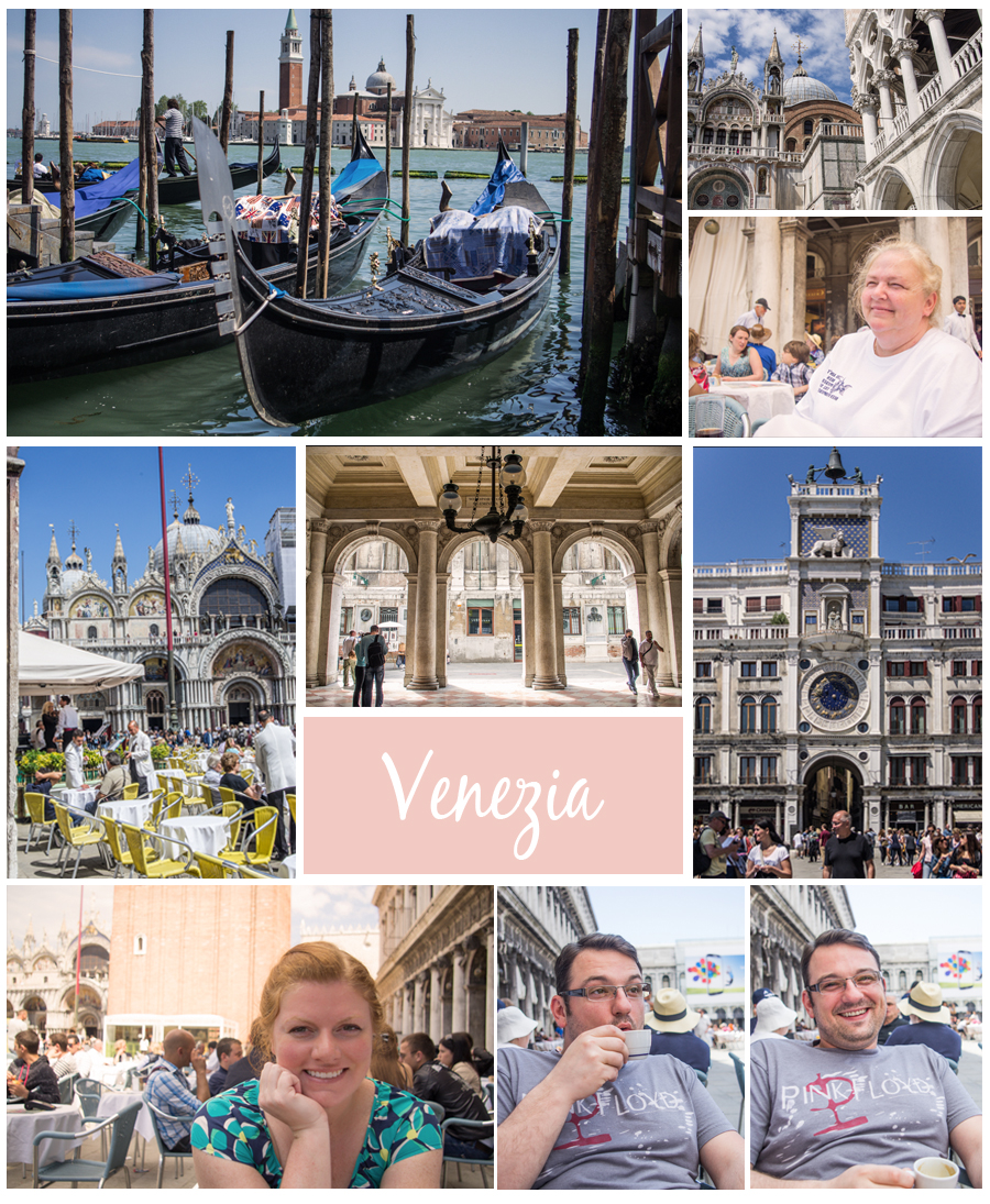 Visiting Venice, Italy
