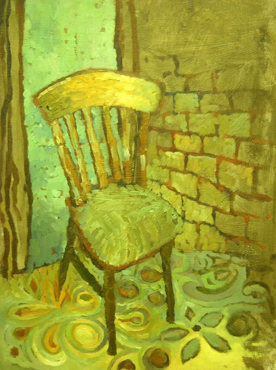 Adieu0027s Van Gogh Chair & adie fine art: Adieu0027s Van Gogh Chair