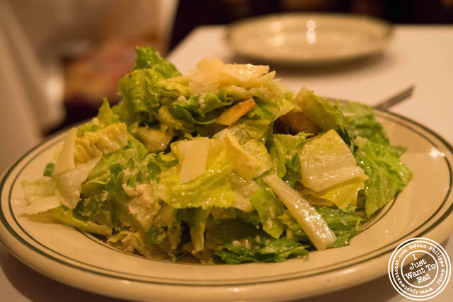 Image of Caesar salad at Ben and Jack's steakhouse in Murray Hill NYC, New York