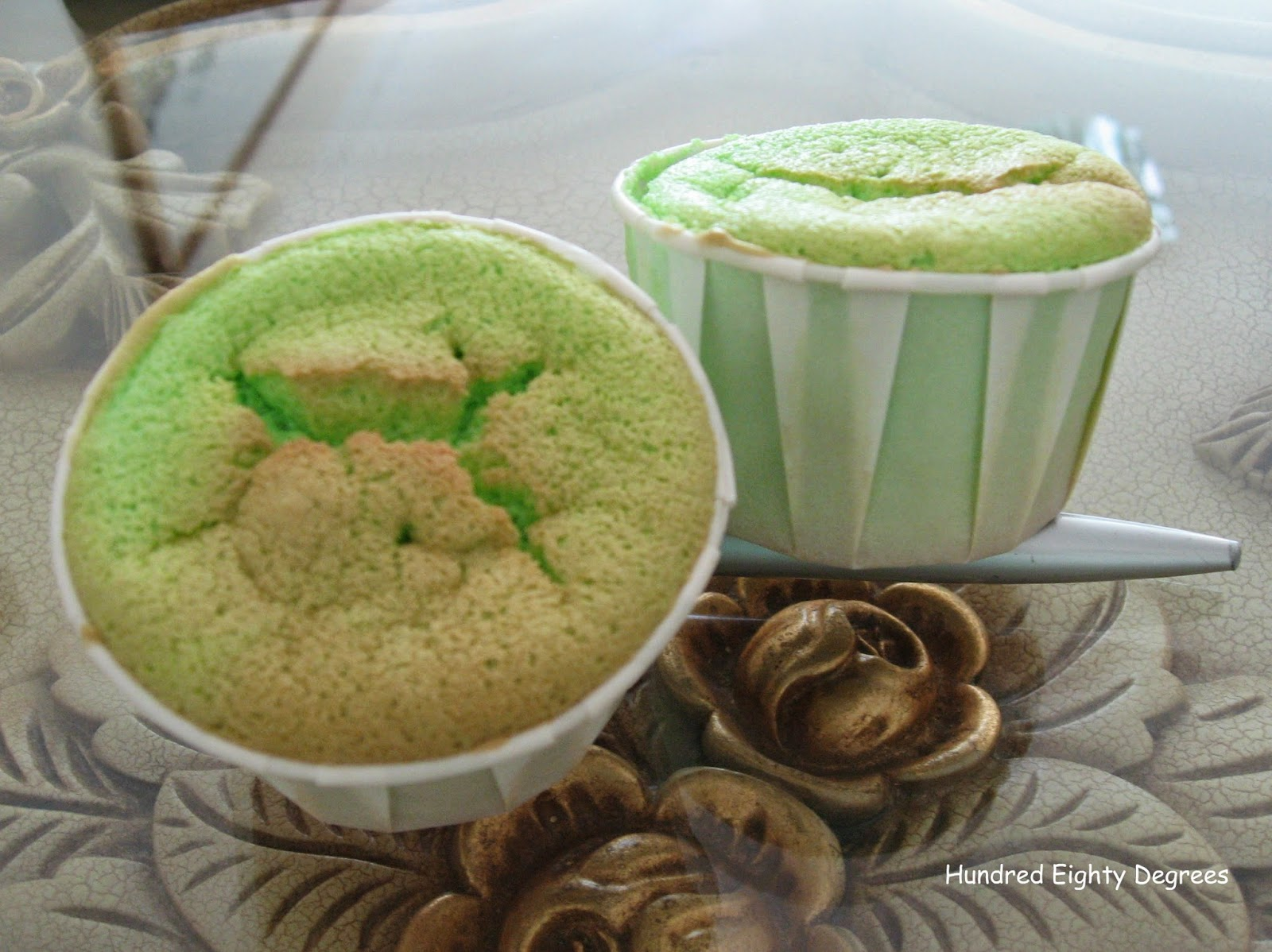 Bahan Cupcake Chiffon Pandan