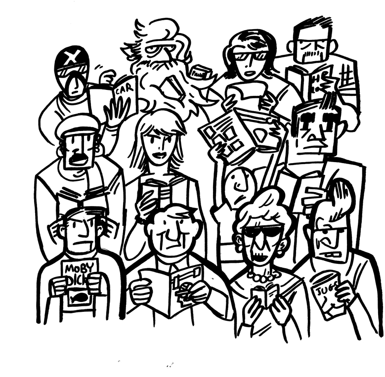 Cartoon Crowd Scenes Crowd Scene