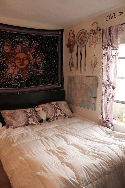 things the books forgot Bedroom Interior Inspo ~ 131045_Earthy Dorm Room Ideas
