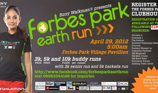 Forbes Park Earth Run 2012