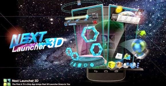 Next Launcher 3D Shell v3.21 APK